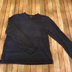 Michael Kors Men's Long Sleeved Henley Shirt